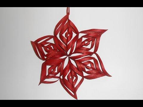 DIY: How to make Paper Star Lantern -Tutorial