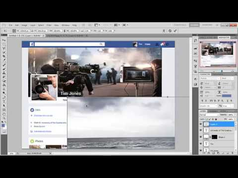 Facebook Profile Quick Edit Photoshop - A2 Media Audience Profile