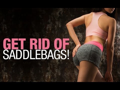 How To Get Rid of Saddlebags (UPPER GLUTES/LOW BACK EXERCISES!!)