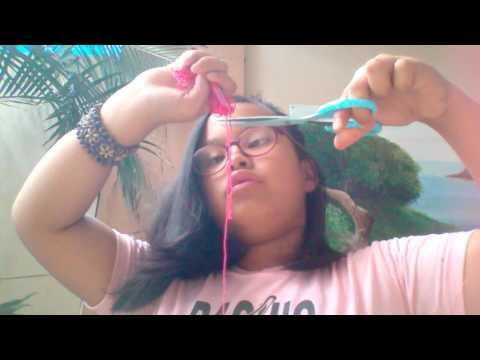 How to make bracelets out of yarn