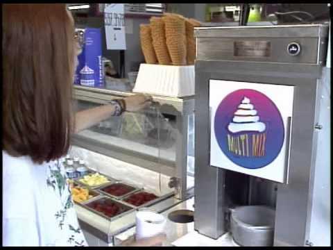 Frozen yogurt Blender / ice cream Multi-Mix machine