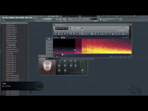 How to make Thunder sound effect on Fl studio using only a Snare Drum