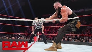 Download Braun Strowman vs. Bobby Lashley – Tug of War: Raw, June 24, 2019 Video