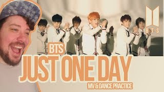 15 29 MB] Download Mikey Reacts to BTS 'Just One Day' MV