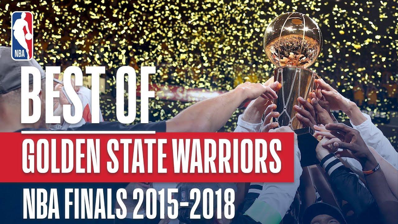 Best of the Golden State Warriors!   NBA Finals 2015-2018