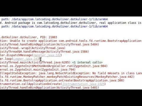 How to solve - Unable to create runtime.BootstrapApplication in Android Studio