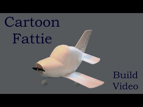 DIY RC Plane Build - Cartoon Fattie