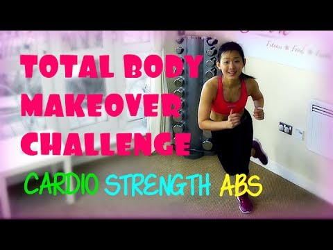 4-Week Total Body Makeover Challenge (Lose 8 Pounds!)