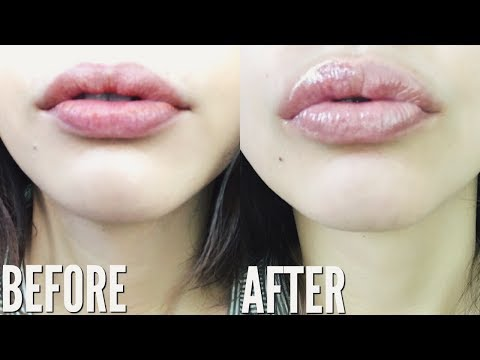HOW TO GET BIGGER LIPS NATURALLY WITHOUT MAKEUP