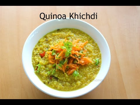 Quinoa Khichdi Recipe - How To Make Quinoa Moong Dal Khichdi | Nisa Homey