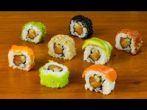 How to Cook a Sushi Dinner Party