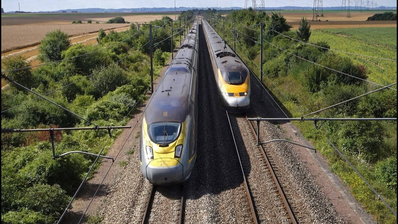 Eurostar - Alstom TMST E300 vs Siemens E320