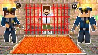 O BEN 10 FOI PRESO! (MINECRAFT PRISON ESCAPE!)