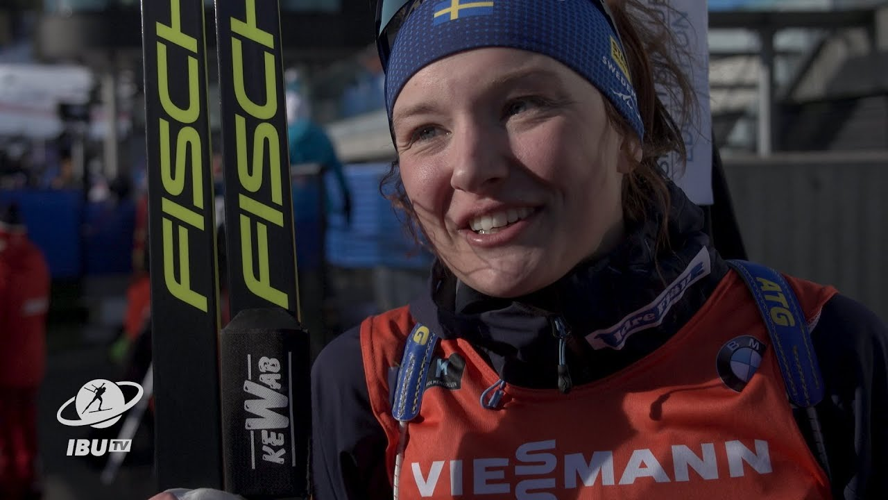 """#HOL19 Persson: """"It's my best result, so happy right now"""""""