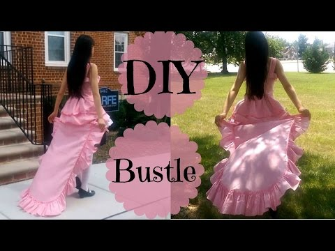 DIY Detachable Ruffle Bustle | Inspired by Anime Ch