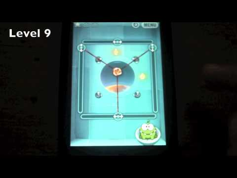 How to Cut the Rope Box 5 Cosmic Box Levels 1-12  3 Star Walkthrough
