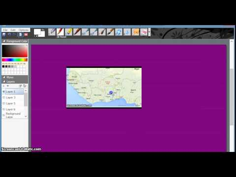 Video tutorial -  How to Import Pictures, or insert images into SmoothDraw