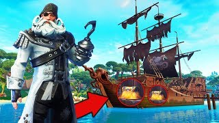 PIRATE ONLY Challenge in Fortnite