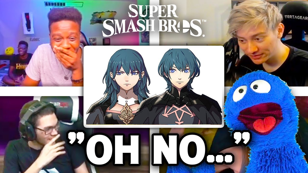 All Reactions to BYLETH Reveal Trailer - Super Smash Bros. Ultimate