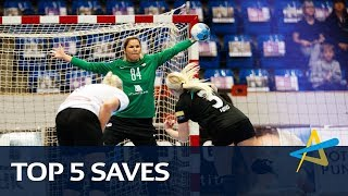 Top 5 saves   Round 3   Women's EHF Champions League 2018/19