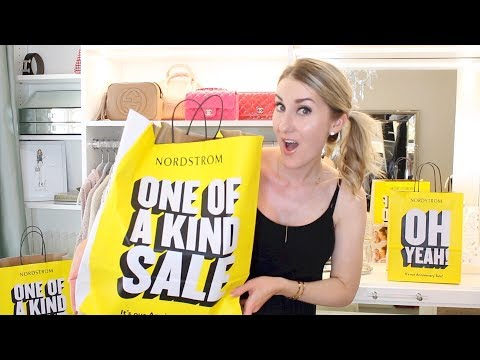 THE BIGGEST ANNIVERSARY SALE HAUL EVER. CLOTHING TRY ON & BEAUTY. 2018