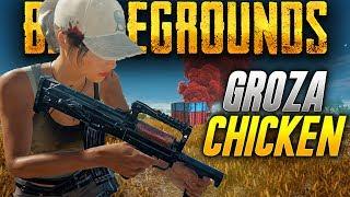 Battlegrounds: MORE GROZA CHICKEN (Playerunknown