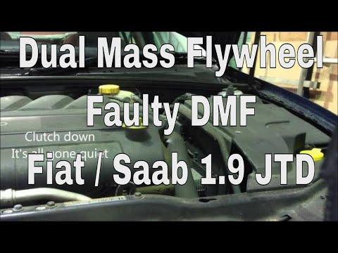 Diesel Worn Out Dual Mass Flywheel - DMF - Fiat Saab 1.9
