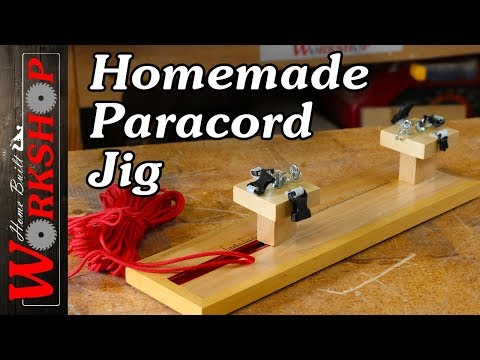 How to make a Paracord Bracelet Jig