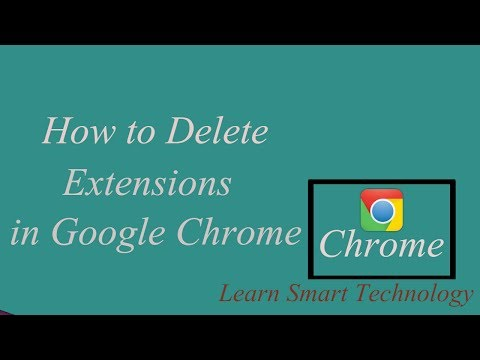 How to Delete Extensions in Google Chrome