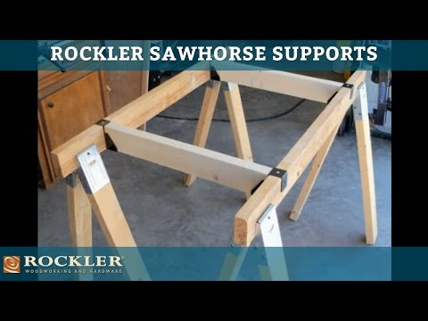 Rockler Sawhorse Supports