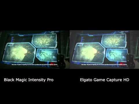 Black Magic vs Elgato Game Capture HD Quality Comparison