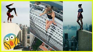 Extreme Selfies Ever | First Ever Girl To Do So | Angela Nikolau - PART 2 |