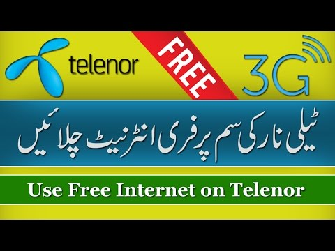 How To Use Free Internet on Telenor Sim (100% Working) - Best Trick Ever