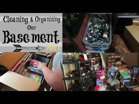 Basement CLEAN UP! | PART 1