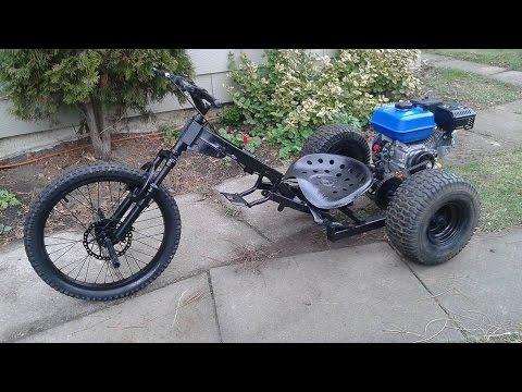 RCMC- Homemade Trike/ Drift Trike with a 7hp motor
