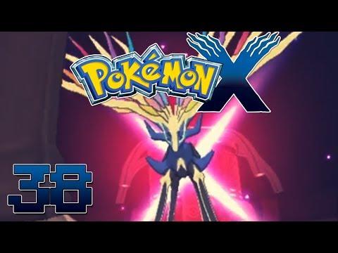 Let's Play Pokemon X Part 38 Catching Xerneas Legendary Pokemon - Gameplay Walkthrough