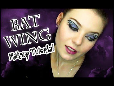 Bat Wing Eye Makeup Tutorial | STYLOWEEN