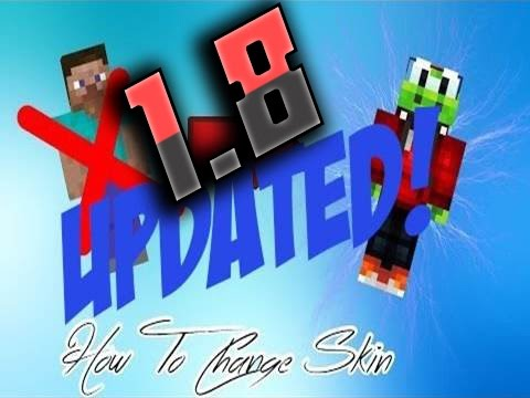[TUTORIAL] How To Change Minecraft Skin (Without Buying The Game {1.8.* UPDATED}