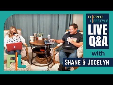 Flipped Lifestyle Online Business PUBLIC Q&A with Shane & Jocelyn Sams (03-11-2018)