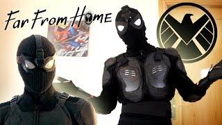 Download Cómo hacer el TRAJE TÁCTICO de SPIDERMAN FAR FROM HOME!!! Video