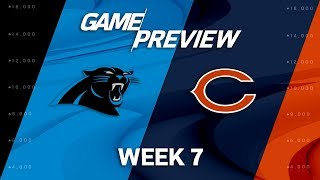 Carolina Panthers vs. Chicago Bears | Week 7 Game Preview | NFL Playbook