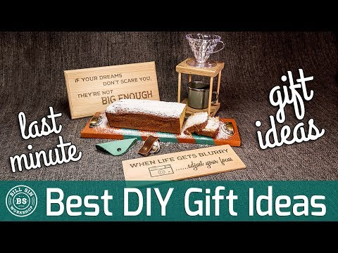Best DIY Gifts Ideas | How to make some last minute DIY presents