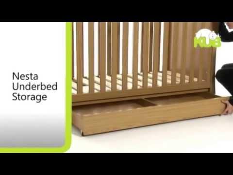 KUB Nesta Nursery Room Set - Features Demonstration Video | Nursery Furniture Store