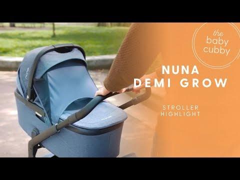 NUNA Demi Grow: New Double Stroller 2018