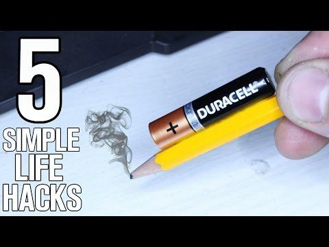 5 Simple Life hacks & Ideas