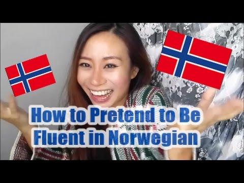 How to Pretend to be Fluent in Norwegian  如何假裝說流利挪威語