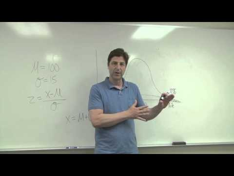Finding Percentile Scores in the Normal Distribution