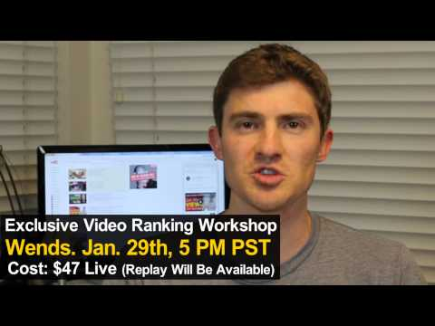 How To Rank Videos In Google and YouTube in 2014 - One Day Video SEO Bootcamp