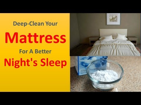 She Sprinkles Baking Soda All Over The Bed   Deep Clean Your Mattress For A Better Night's Sleep