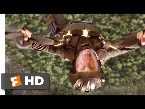 Stealth (2005) - Clipped Wing Scene (7/10) | Movieclips